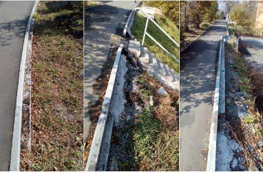 Во Владивостоке пожаловались на качество ремонта улицы Хабаровская