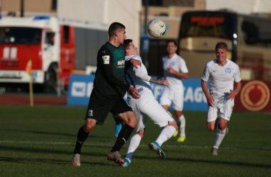 Футболисты «Луча» избежали поражения в игре с «Краснодаром-2»