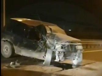 «Внедорожник всмятку»: серьёзное ДТП произошло в Приморье