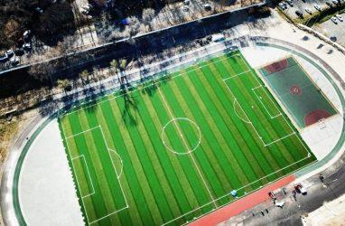 Лучшее футбольное поле на Дальнем Востоке появится на стадионе «Строитель» во Владивостоке