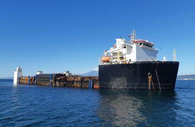 В Приморье с Камчатки доставили девять многоотсечных блоков атомных подводных лодок