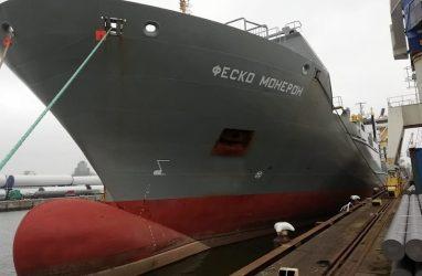 Контейнеровоз ледового класса пополнил флот группы FESCO