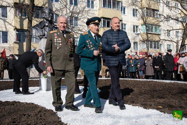 Открытие памятника Рихарду Зорге
