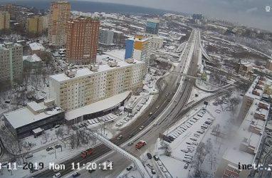 Ливень и снег: полторы месячных нормы осадков обрушились на Владивосток