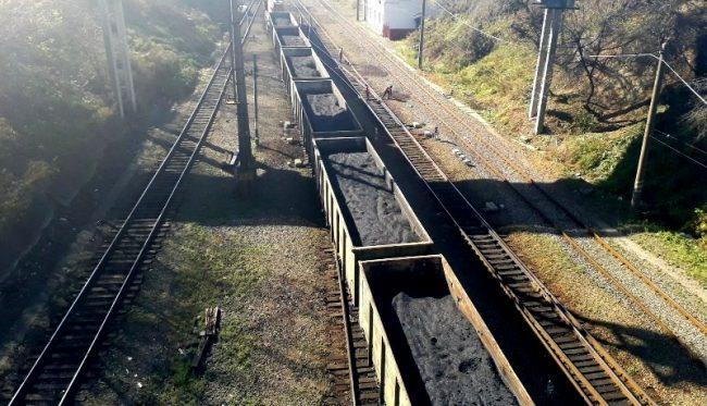 Уголь, железная дорога, вагоны, ДВЖД