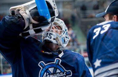 Хоккеисты «Адмирала» уступили на домашнем льду СКА