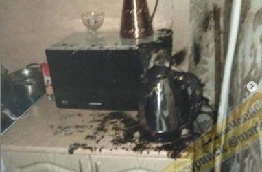 «Купили чайник за 500 рублей»: в Приморье чуть не сгорела квартира