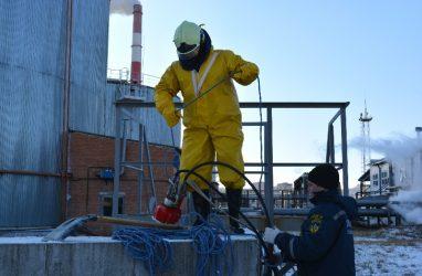 Условный разлив мазута ликвидировали на Владивостокской ТЭЦ-2