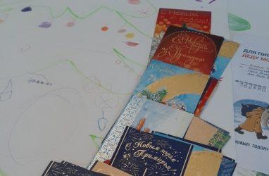 В Приморье установили специальные почтовые ящики для писем Деду Морозу