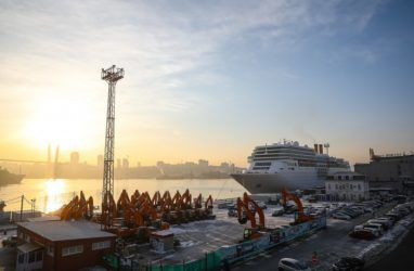 Последний в 2019 году лайнер зашёл во Владивосток