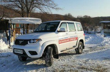 В Приморье спецавтомобиль доставил в поликлиники две тысячи пенсионеров
