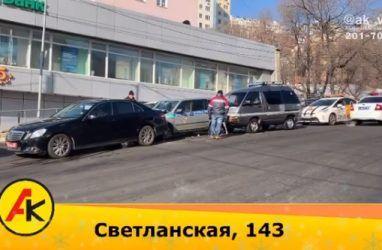 Во Владивостоке наказали водителя микроавтобуса, у которого отказали тормоза