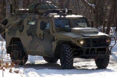 Новейшие командно-штабные машины «Тигр» поступили в Приморье