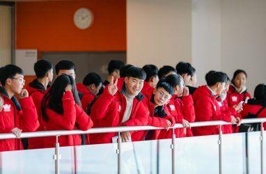 Зимняя школа для китайских старшеклассников открылась на острове Русский