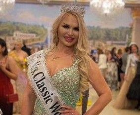 Мать четверых детей из Приморья выиграла конкурс красоты Mrs. World Classic