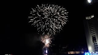 Новогодний фейерверк увидели гости и жители Владивостока