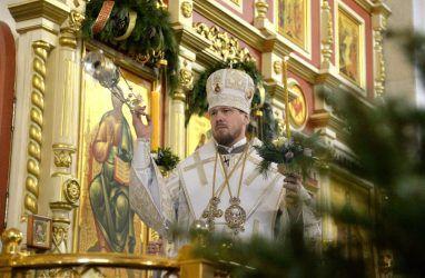 Митрополит Владивостокский и Приморский обратился с Рождественским посланием