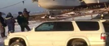 Машины ушли под лед