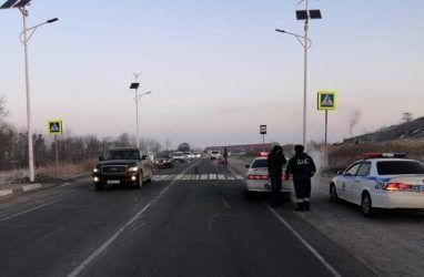 Водитель-лихач сбил насмерть женщину в Приморье