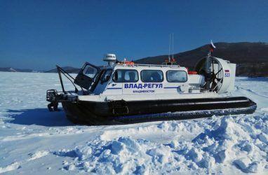Рейсы из Владивостока на острова Рейнеке и Попова временно прекратили из-за поломки судна на воздушной подушке
