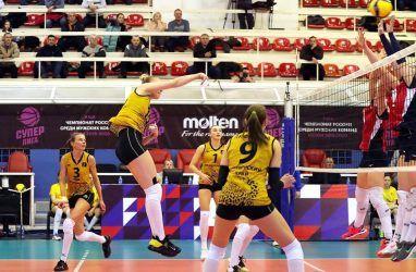 Волейболистки «Приморочки» выиграли у «Луча» в домашнем матче