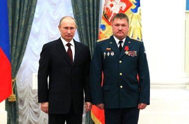 В Сирии открыли памятник генерал-майору Валерию Асапову, который командовал армией в Приморье