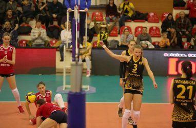 Волейболистки «Приморочки» стартовали в домашнем туре Высшей лиги с победы