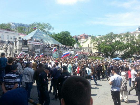 Во Владивостоке оправдали одного из участников антикоррупционной акции в День России