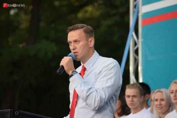 Навальный поделился своими впечатлениями о митинге во Владивостоке