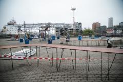 Стол в виде коралла украсил Морской вокзал во Владивостоке