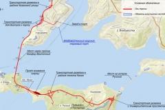 Схема мостового перехода