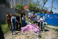 Ещё один сеанс бьютивандализма прошёл во Владивостоке