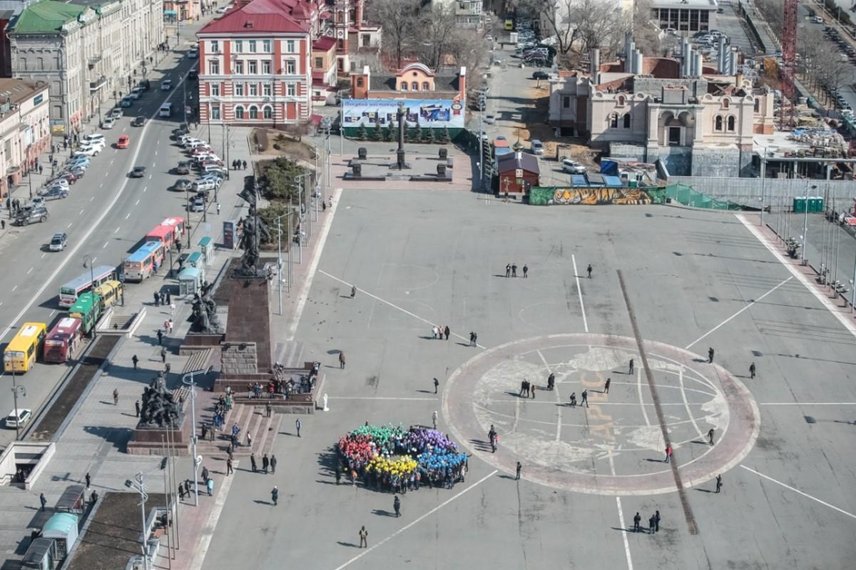 как небес фото центральной площади города владивостока того, так сможете
