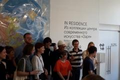 """Открытие выставки посетил лидер группы """"Мумий Тролль"""" Илья Лагутенко"""