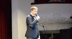Ведущий XIII Международного джазового фестиваля Виктор Радзиевский