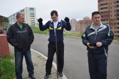 <strong>Некоторые горожане вышли на улицу с кувалдами и ломиками, чтобы демонтировать установленные там конструкции</strong>