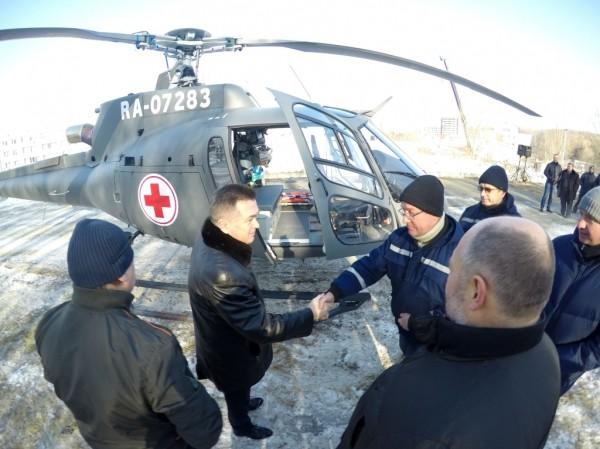 Приморские вертолеты скорой помощи эвакуировали 116 человек