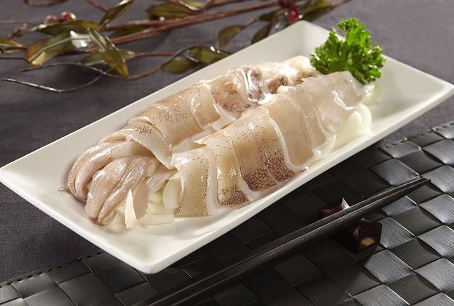 Кальмар, морепродукты