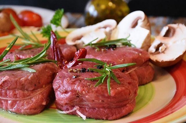 Мясо, блюдо, еда, ресторан