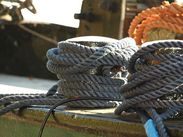 судоходство, порт, канат, море