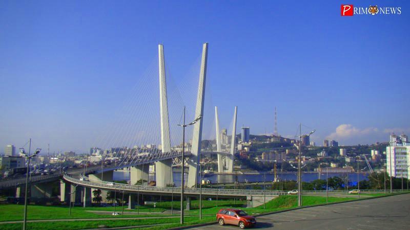 Мост через Золотой Рог, Золотой мост, Владивосток