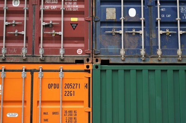 склад, контейнеры