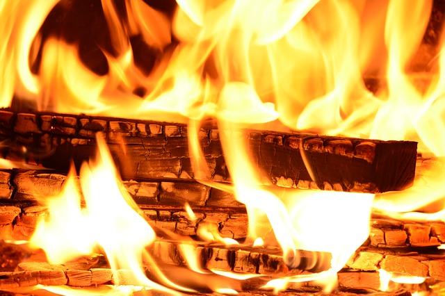 В Приморье на пожаре огнеборцы спасли двух мужчин