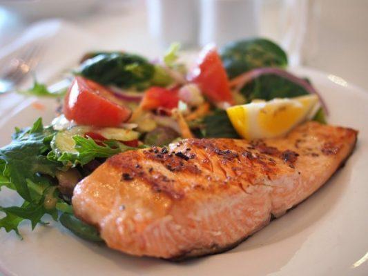 рыба, еда, ресторан, кафе