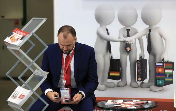 Бизнесмен. Фотография Станислава Красильникова, ТАСС