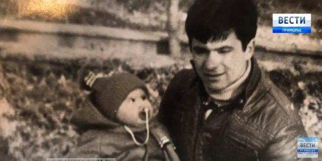 Андрей Тарасенко с дочерью