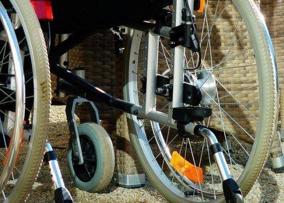 Инвалид, инвалидная коляска
