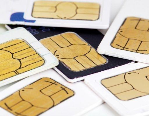 SIM-карта, мобильная связь, телефон, сим-карта
