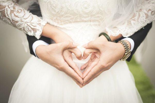 Свадьба, молодожены, жених, невеста, брак