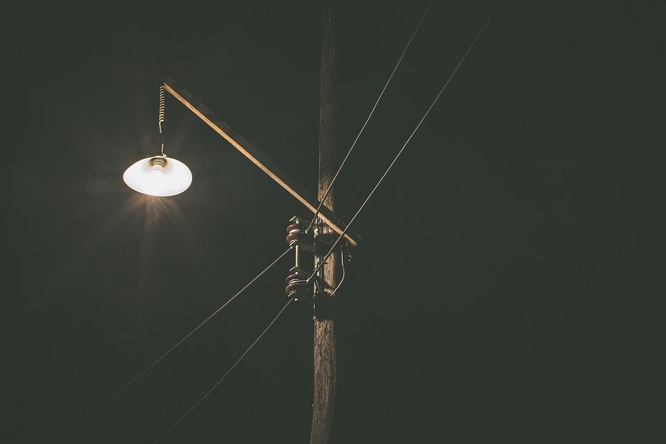 Фонарь, дорожное освещение, свет, лампа